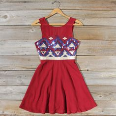 Dresses- Sweet Vintage Inspired Boho Dresses from Spool No.72. | Spool No.72  so excited to wear this