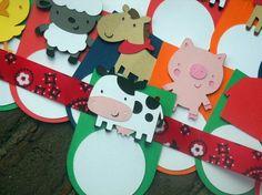 Farm/Barnyard Food Tags  Buffet Tags Jar Labels Favor by 62Cards, $13.00