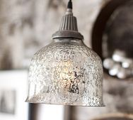 Simple, yet so beautiful.  I was looking for something like this when I changed the lighting in my kitchen but couldn't find it.