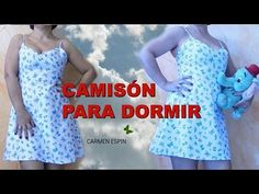 CAMISÓN DE DORMIR:DIY - YouTube