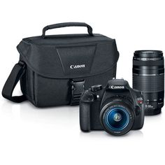 $449_B&H Canon EOS Rebel T5 DSLR Camera with 18-55mm and 75-300mm Lenses Bundle
