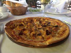 Pizza de Pulpo y Setas al ajillo