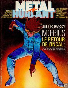 Bandes dessinées - John Difool - Metal Hurlant 86