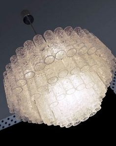XXL CRYSTAL Chandelier by DORIA with Murano Glass by muromant