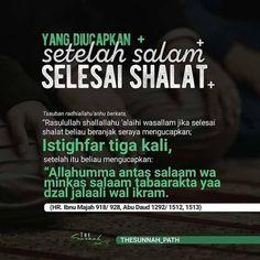 Di baca setelah shalat... Islamic Quotes, Islamic Messages, Muslim Quotes, Islamic Inspirational Quotes, Islamic Prayer, Prayer Verses, Quran Verses, Quran Quotes, Faith Quotes