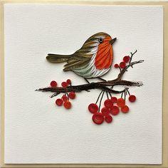 Bird Cards/Bird Quilling Cards