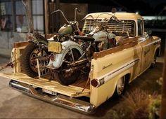 Afternoon Drive: Two-Wheeled Freedom Machines Photos) - Suburban Men Vintage Motorcycles, Custom Motorcycles, Custom Bikes, Custom Bobber, Vespa, Chevy Diesel Trucks, Classic Pickup Trucks, Harley Bikes, Bobber Motorcycle