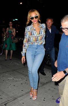 Look Beyonce: Camisa + Calça Skinny | Looks Inspiração