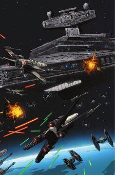 Preview: Star Wars #22, Story: Jason Aaron Art: Jorge Molina Cover: David Aja…