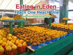 Eating in Eden – Teach One Reach One