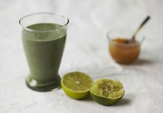 #make A better breakfast | green mojito smoothie