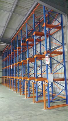 Drive-In Racking System A high density storage system for fast moving products. Pallet Racking, Pallet Storage, Racking System, Can Design, Cairns, Storage Solutions, Warehouse, Shelving, Products