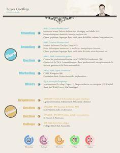 Resume Design - COLOURlovers Blog http://clrlv.rs/zn9fqT