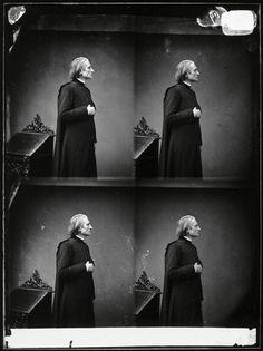 Franz Liszt, 1865. Photographe : Pierre Petit.