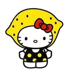 Lemonheads meet Hello Kitty