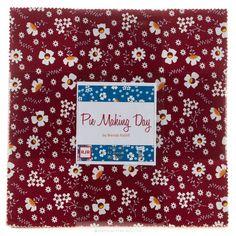 Pie Making Day Patty Cake - Brenda Ratliff - RJR Fabrics