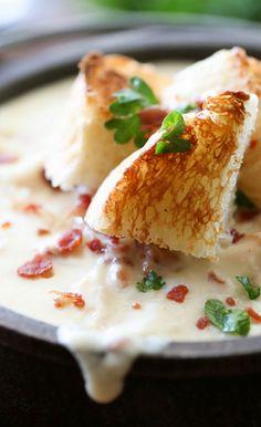 Chicken Cordon Bleu Soup | Cookboum