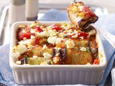Gemüseauflauf - feine Rezepte für bunte Ofengerichte - auberginen-tomaten-auflauf-2  Rezept