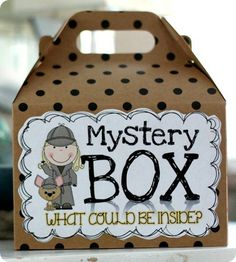 Mystery Box: Inferring Good Idea for intro to lesson about inferencing