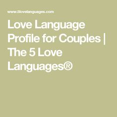 5 love languages physical touch for dating couple