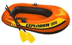 Buy Intex Explorer Inflatable Boat Set with French Oars and Mini Air Pump big discount! Only 10 days. Get your Intex Explorer Inflatable Boat Set with French Oars and Mini Air Pump now! Sea Fishing, Kayak Fishing, Fishing Boats, Kayak Roof Rack, Kayak Storage, Double Kayak, Kayaking Tips, Kayak Accessories, Dinghy