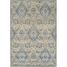 A soft-touch and a distressed look give these rugs an at-home feel.