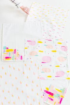 DIY pattern throw pillows   sugar & cloth