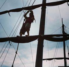 Que tal dar um passeio no barco Piratas do Caribe em Florianópolis no estado de Santa Catarina? 💙🚢🌊