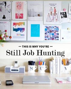 This is Why You're Still Job Hunting. Make yourself visible online. Career Advice, Career Tips