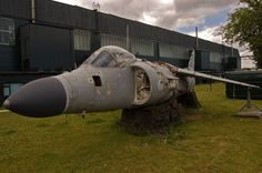 Since January 2009, the gaunt, hollow hulk of British Aerospace Sea Harrier ZE697, an FA2 version of the famous Jump Jet, has languished on shipping pallets outside Hangar 3 at the site of the former RAF Binbrook in Lincolnshire.