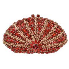 LaiSC Ladies Crystal Evening Bag Luxury Diamond clutch purse party bags damen wedding bride handmade Day Clutches Prom Bag SC245