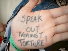 A message of solidarity to survivors of torture
