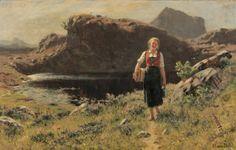 Hans Dahl (1849 – 1937) – Pintor Norueguês_2