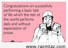 CONGRATULATIONS ON SUCCESSFULLY PERFORMING A ... - http://www.razmtaz.com/congratulations-on-successfully-performing-a/