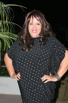"""Angela Rene, designer of plus-sized line, Purple Diva dishes out on her inspiration behind her latest collect """"Ebony and Ivory.""""     Find out more at http://runwayjunkie.com/speak-up/entry/oc-fashion-week-purple-diva-clothing-line-not-done 