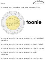 Learning About Canadian Money - money worksheets Money Activities, Name Activities, Preschool Activities, Teaching Strategies, Teaching Math, Teaching Ideas, Money Worksheets, Printable Worksheets, 1st Grade Math