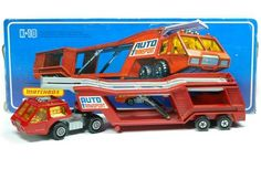 Car Transporter - Matchbox 1976 - Series Nr. K-10 Mine came in a set with 5 cars!