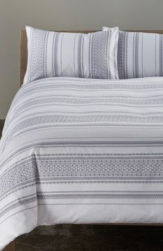 Nordstrom at Home 'Emma' Duvet Cover available at #Nordstrom