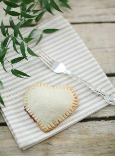 heart-shaped Valentine's Day pies {yum}