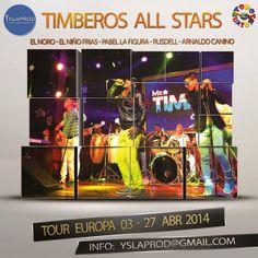 Cubasoyyo: Timberos All Stars - En Vivo Perù 2013 y Tour Europa 2014