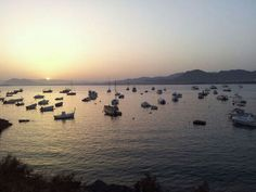 Puerto de Mazarron desde La Azohia....where I live! Donde vivo!