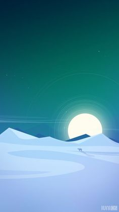 Ideas Landscape Illustration Vector Winter For 2019 Bg Design, Graphic Design, Minimalist Wallpaper, Fantasy Landscape, Aesthetic Wallpapers, Wallpaper Backgrounds, Vector Art, Cool Art, Concept Art