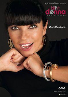 Per Natale indossa l'oro e l'argento! Abbina i bracciali #flex ai maxi orecchini della linea #wonderlux! #sonobirikina #birikinidonna #ribasbirikina