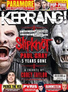 Kerrang magazine Slipknot Paul Gray tribute Pierce the Veil PVRIS Rammstein    .