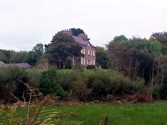 This is the dowager house where Aunt Mary lived after she became a widow. It's on the estate ground of The Hall in Mt. Charles, Co. Donegal, Aunt, Photo Credit, Ireland, Irish, Summer, House, Summer Time, Irish Language