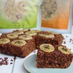 Choco banaan ontbijt cake - De website van supervood! Good Mood, Banana Bread, Keto, Cooking, Breakfast, Healthy, Desserts, Food, Website