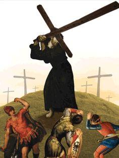 © Rasalo | Semana Santa en Gif | Crucificción