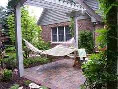 Hammock  Pergola #diy #inspiration #garden #yard #outdoors