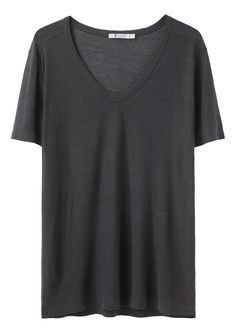 T by Alexander Wang / Slub Classic Tee. Opens up many layering options!
