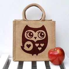 Little Owl Lunch Bag front